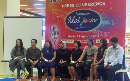 MNCTV Gelar 'Indonesian Idol Junior'