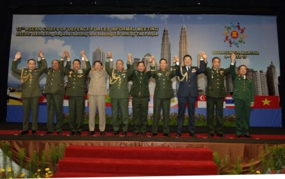 Panglima TNI Ikuti Asean Chief of Defence Force Informal Meeting