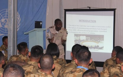 60 Prajurit TNI Ikuti Induction Training di Darfur