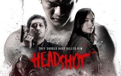 Screenplay Rilis Poster Headshot Terbaru